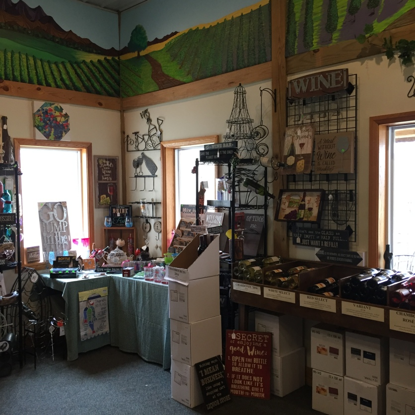 Butler Winery tasting room