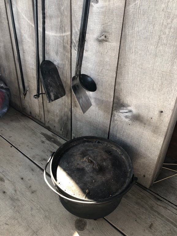 Ann's pioneer baking equipment